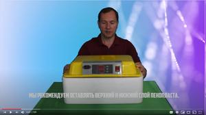 видео инкубатора WQ-24